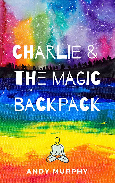 charlie & the magic backpack front cover