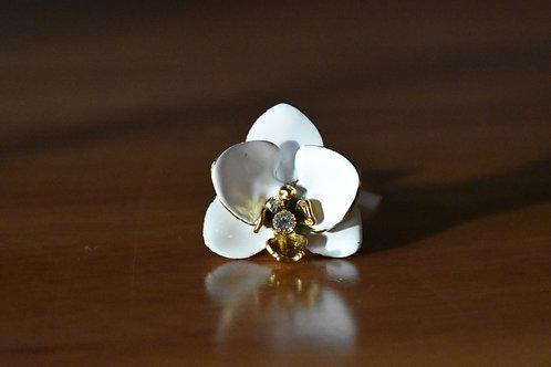 Anel orquídea