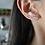 Thumbnail: Brinco earcuff fio cravejado