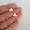Thumbnail: Brinco triângulo Mystic