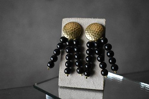 Brinco Bolas Astra - black