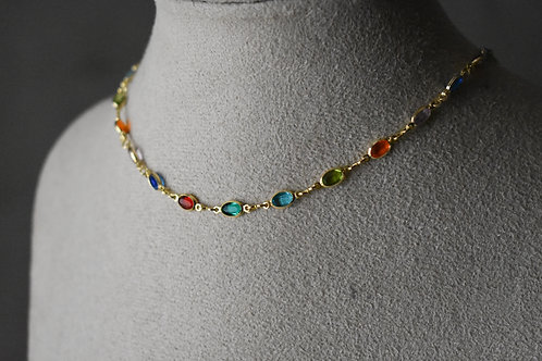 Colar prisma rainbow