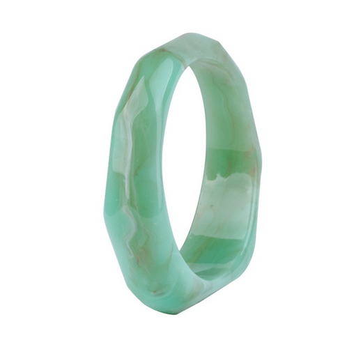 Bracelete Resina Verde
