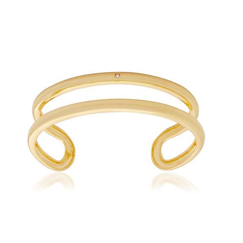 Bracelete Liso Duplo Joy