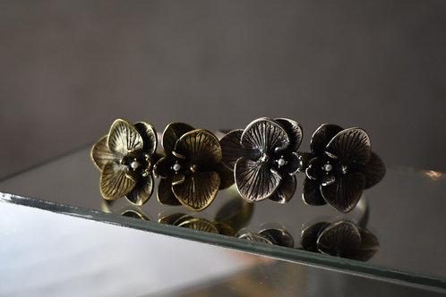 Bracelete orquídea mini pérola
