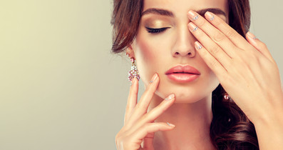 Luxury fashion style, manicure nail , co
