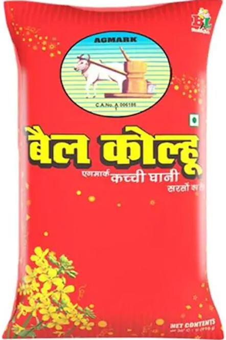 Bail Kolhu Mustard Oil 1 Ltr