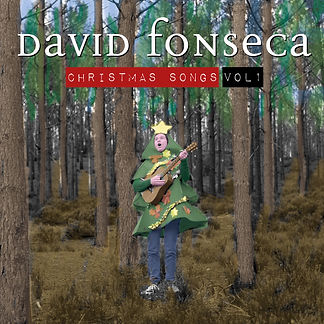 DAVID FONSECA Capa CHRISTMAS SONGS VOL1.