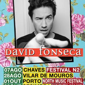 DAVID FONSECA AO VIVO!