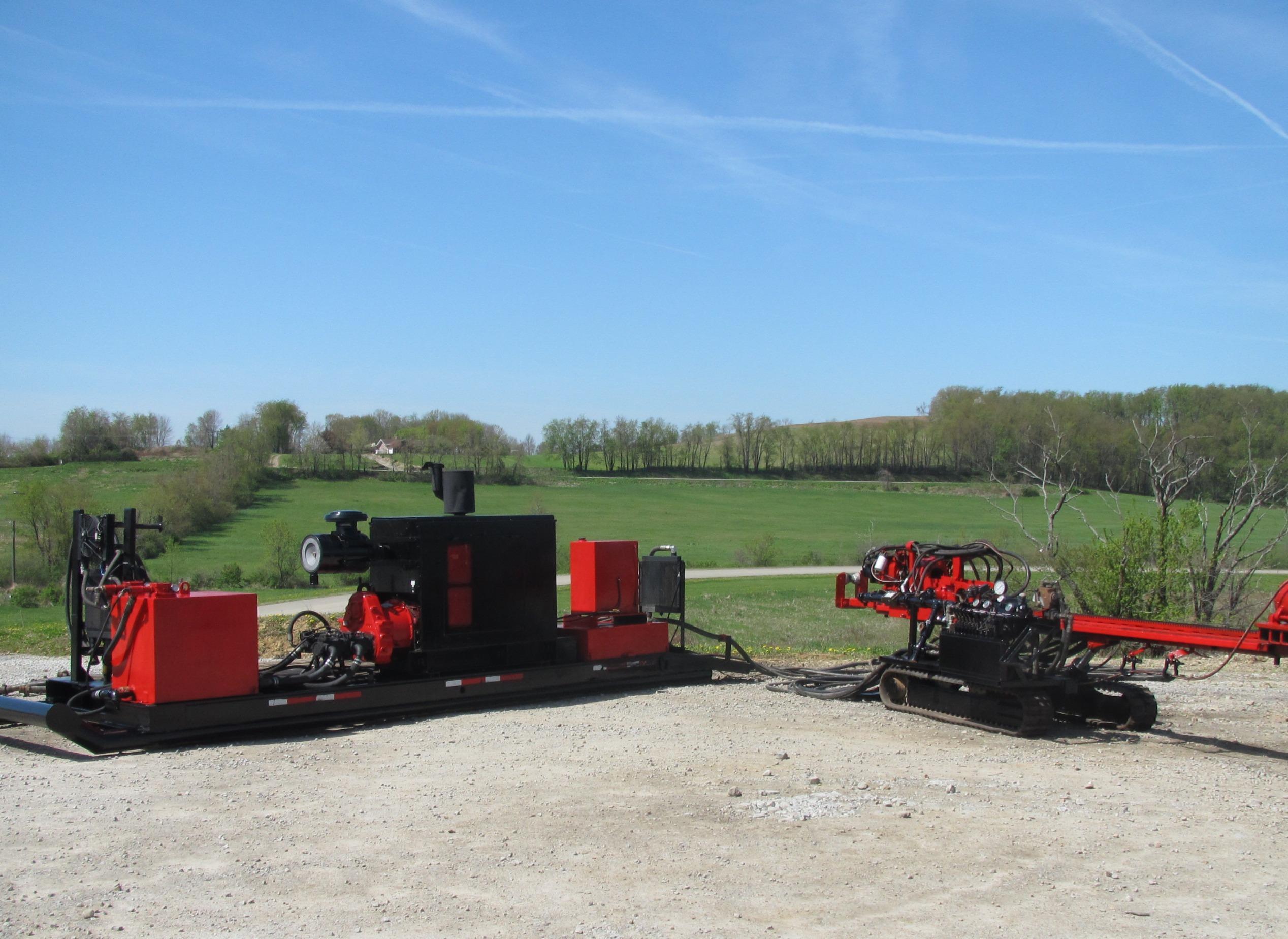 5015 Horizontal Diesel Rig