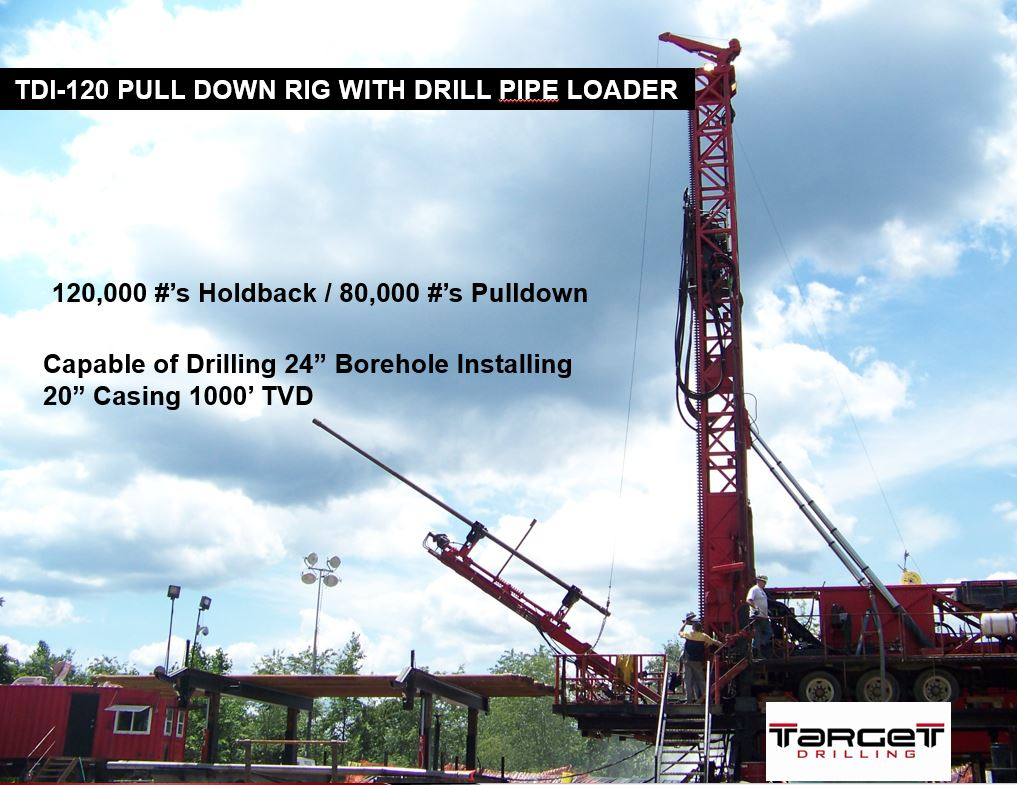 120 Tophead Pulldown Rig