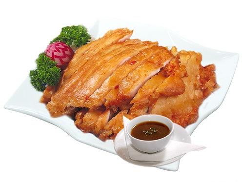B5 | Voňavé křehké kuře s omáčkou
