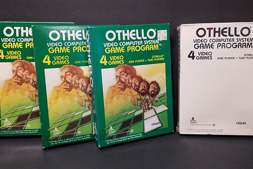 Othello you get all 4 (won't separate)