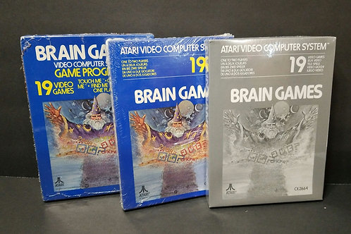 Brain Games you get all 3 (won't separate)