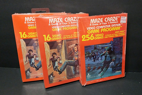 Maze Craze you get all 3 (won't separate)