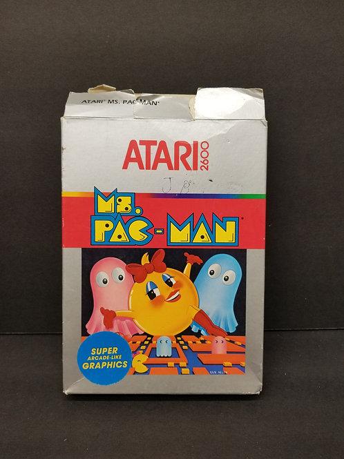 Ms. Pac-Man open box