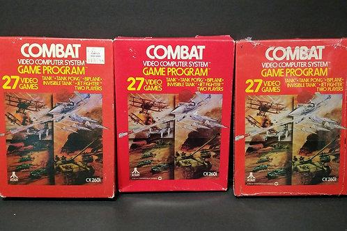 Combat all three