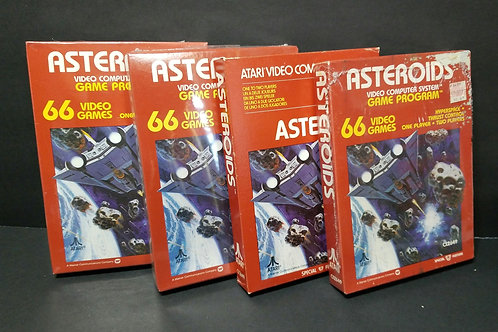 Asteroids you get all 4 (won't separate)