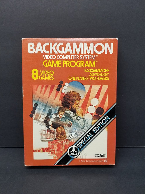 Backgammon open box