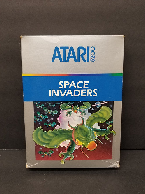 Space Invaders 5200 CIB tested