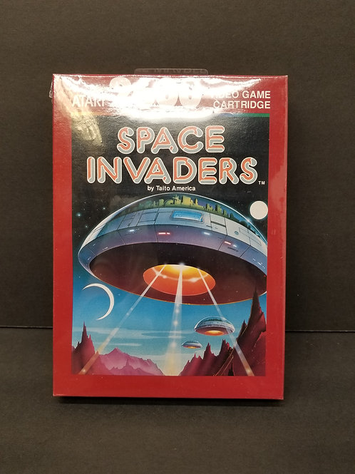 Space Invaders open box