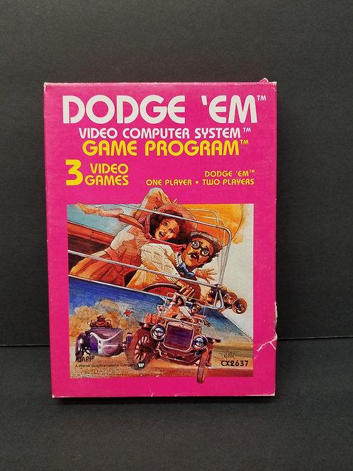 Dodge-em open box