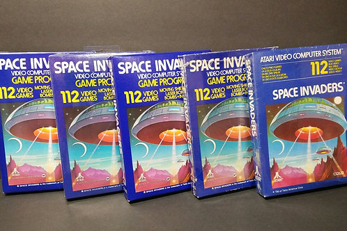 Space Invaders you get all 5 (won't separate)
