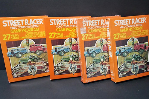 Street Racer you get all 4 (won't separate)
