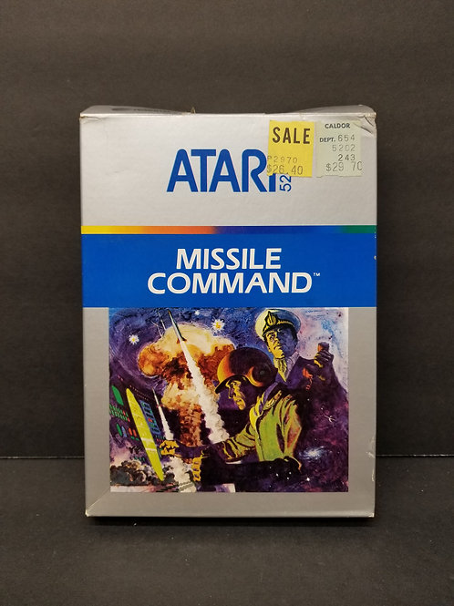 Missile Command 5200 CIB tested