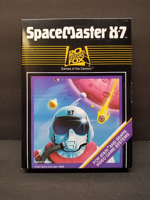 Space Master X-7 from factory case