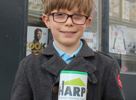 Local Boy Asks For Donations to HARP Instead Of Birthday Presents