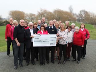 Golf club's fundraising events are a swinging success