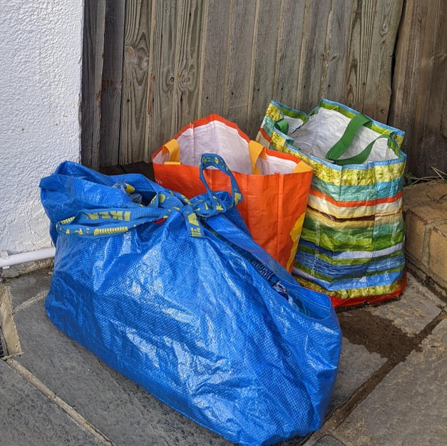 A HARP Community Champion's food collection