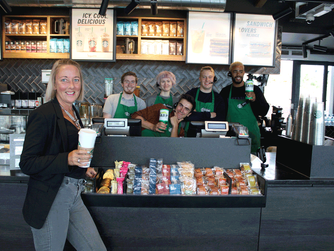 Starbucks in Southend show their support for HARP