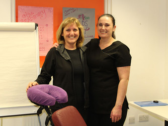 Complementary Therapists volunteer to offer free massages and reflexology to local people overcoming