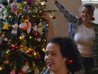 HARP's Tree of Life comes third in Community Christmas Tree Festival