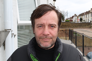 Formerly homeless man helped by HARP Southend