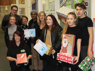 Southend Adult Community College's Christmas Shoebox Appeal for the Homeless