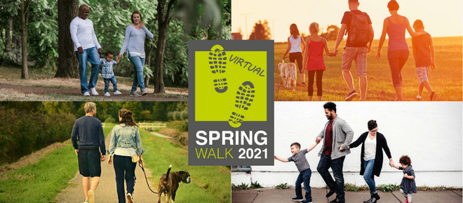 Join HARP's Virtual Spring Walk Over The Easter Holidays