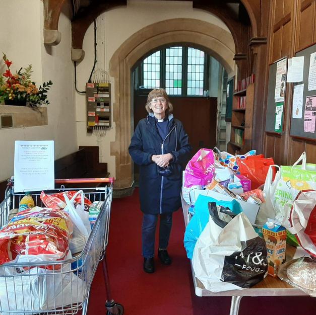 The Revd Judith Wilkinson & the St Saviour's Church Westcliff collection