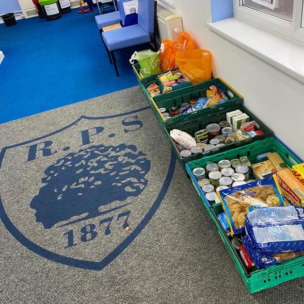 Rochford Primary School's amazing Harvest collection