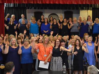 Sweet Charity Choir raise over £1,500 for HARP