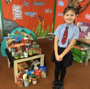 Riverside Primary School's Harvest 2020 Collection