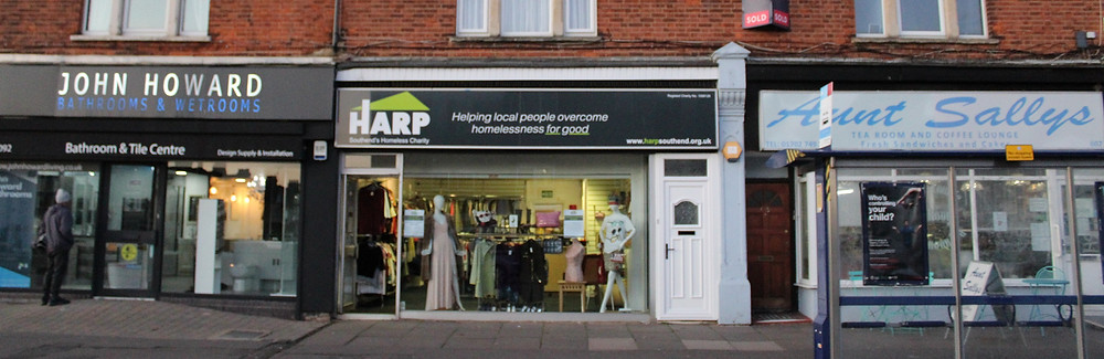 Pictured: HARP's chsrity shop on Southchurch Road