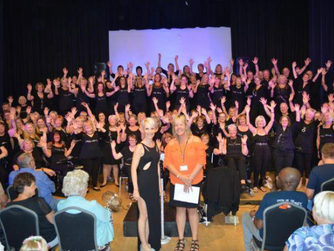 Funky Voices raise almost £1600 for HARP!