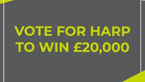 Vote for HARP to Win £20k Grant!