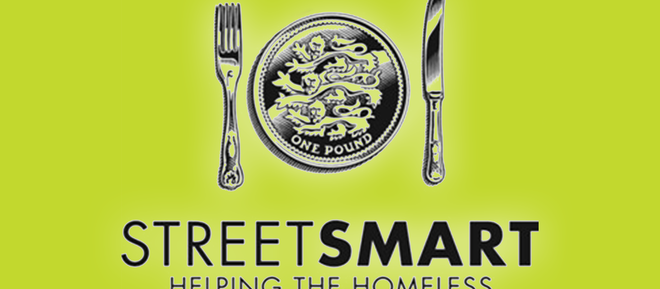 """StreetSmart is back! Donate money to HARP every time you eat out at participating restaurants in an"