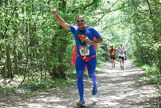 Superman runs at HARP24 to support homeless people in Southend