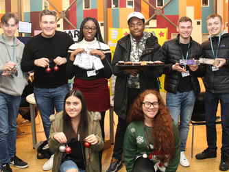 SEEVIC students get business minded in aid of HARP