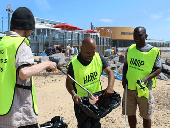 HARP's Beach Clean-Up Operation
